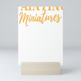 Painter Painting Miniatures Art Hobby  Gift Mini Art Print