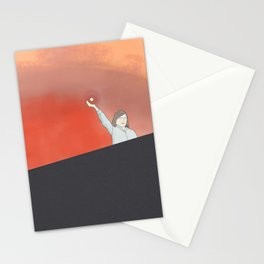 Pepper During the Fire Stationery Cards