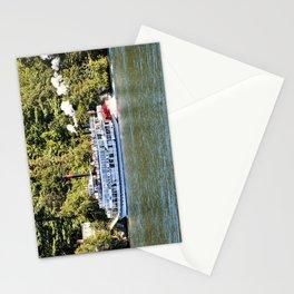 Minne-Ha-Ha Steamboat on Lake George Stationery Cards