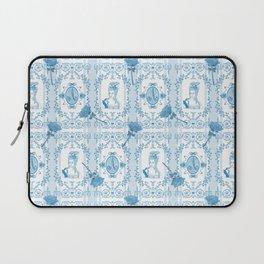 Marie-Antoinette Monogram (Aqua) Laptop Sleeve