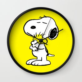 Snoopy and Woodstock Wall Clock
