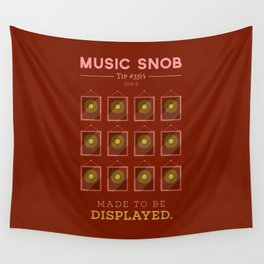 Made to be Displayed — Music Snob Tip #33⅓ B Wall Tapestry