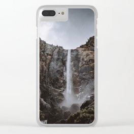 Bridalveil Fall Yosemite Clear iPhone Case