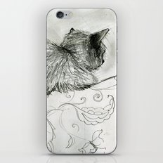 Fluffers on the Sofa iPhone & iPod Skin