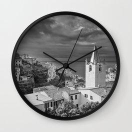 Cinque Terre in Italy Wall Clock