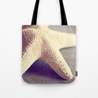 starfish Tote Bags featuring Starfish by Dena Brender Photography