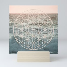 Mandala Flower of Life Sea Mini Art Print