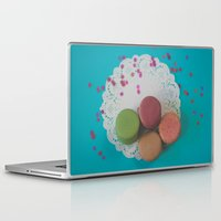 macarons Laptop & iPad Skins featuring Macarons by Jessica Torres Photography