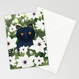 Clematis Cat Stationery Cards