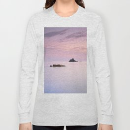 San Cristobal Reefs At Sunset . Long Sleeve T-shirt