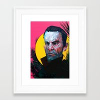 dishonored Framed Art Prints featuring you killed her  by VPUVWV