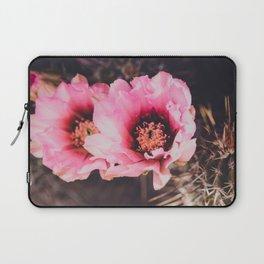 Faded Desert Blooms Laptop Sleeve
