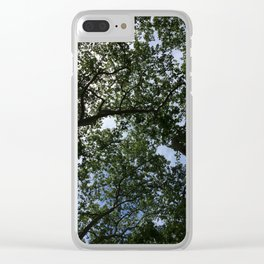 View from Below Clear iPhone Case
