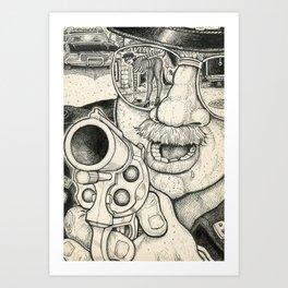Caught 2 Art Print