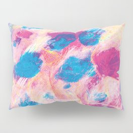 Colours of summer 1 -Abstract pattern Pillow Sham