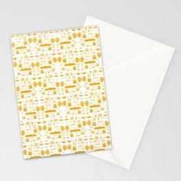 Pasta, Bread, Fries...Yummm Stationery Cards