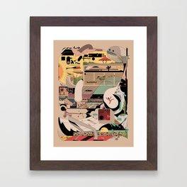 This is Nbjfdk Framed Art Print