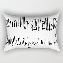 New York Skylines Rectangular Pillow