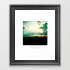 Sunset - Fripp Island South Carolina Framed Art Print