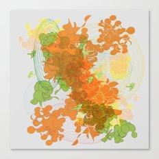 vegetal growth Canvas Print