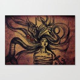 drifter Canvas Print