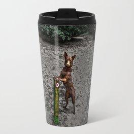 Australian kelpie- no entrance for dogs Travel Mug