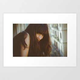 Love from Paris Art Print