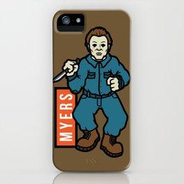 Michael Meyers iPhone Case
