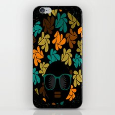 Afro Diva: Fall Colors Brown Gold Teal iPhone & iPod Skin