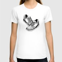 sneakers T-shirts featuring Sneakers by Addison Karl
