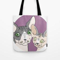 Nick and Vic Tote Bag