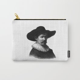 Man in a hat 1 Carry-All Pouch