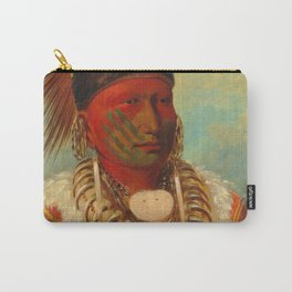 The White Cloud, Head Chief of the Iowas, Catlin Carry-All Pouch