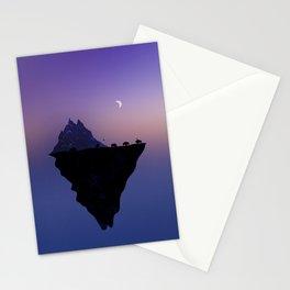 Muskox and snowy owl habitat Stationery Cards