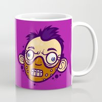 hannibal Mugs featuring Hannibal by Artistic Dyslexia