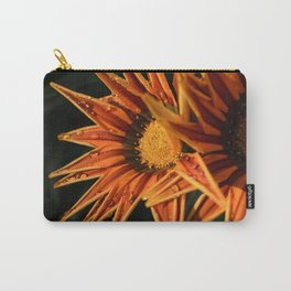 Orange Flower (Close-up) Macro Carry-All Pouch