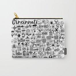 Cincinnati Ohio Map Carry-All Pouch