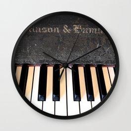 Antique Mason & Hamlin Piano Wall Clock