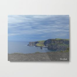 The Cliffs of Moher Metal Print