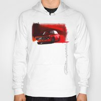 gta Hoodies featuring Alfa Romeo Giulia Sprint 1600 GTA by Vadim Artemyev
