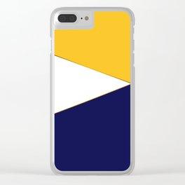 Silva , trio Clear iPhone Case