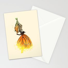 Bookworm Metamorphosis Stationery Cards