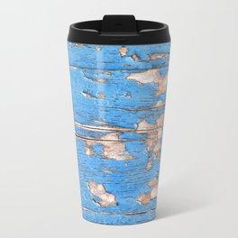 Flaky Blue 61 Travel Mug