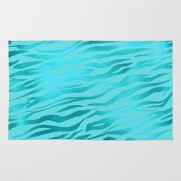 Tiger Ocean Blue Rug