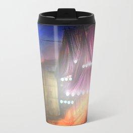 Midnight stray Metal Travel Mug