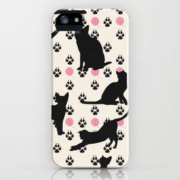 Mischievous Cats iPhone Case