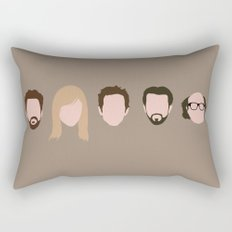 The Gang (It's Always Sunny) Rectangular Pillow