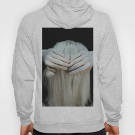 White hair Hoody