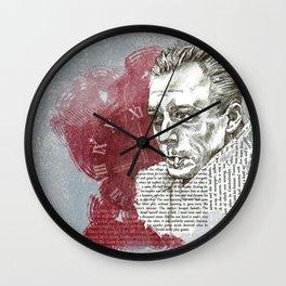 Camus - The Stranger Wall Clock