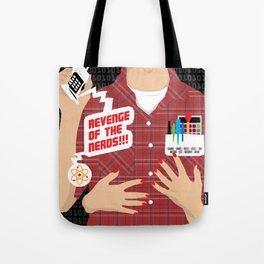 80s TEEN MOVIES :: REVENGE OF THE NERDS Tote Bag